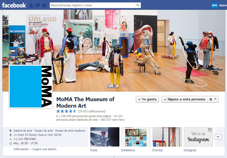 Los museos más visitados del mundo utilizan la web y las redes sociales para crear valor comercial