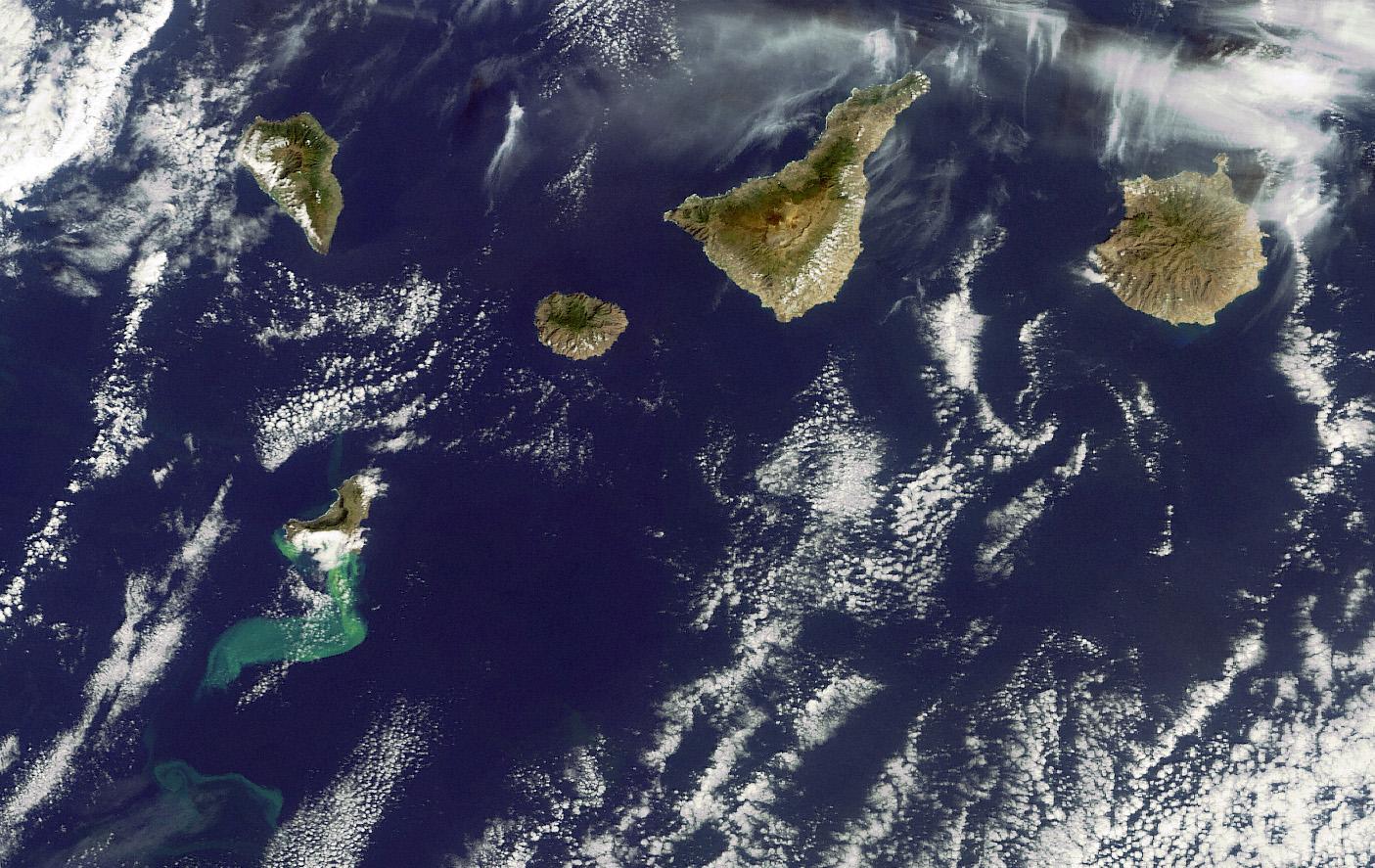 Los nanofósiles de El Hierro ponen a Canarias más cerca de Hawái