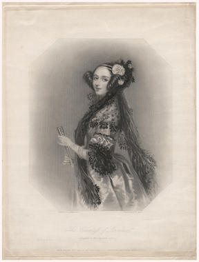 <p>Retrato de Ada Lovelace, matemática e hija de Lord Byron. Imagen: Matematical Association of America.</p>