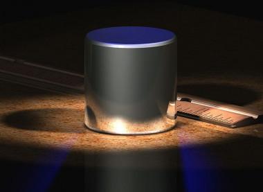 <p>Recreación del Patrón Nacional de kilogramo de losEstados Unidos,que se revisa de forma periódica a partir del estándar internacional primario de laOficina Internacional de Pesas y Medidas(Francia). / Wikipedia</p>