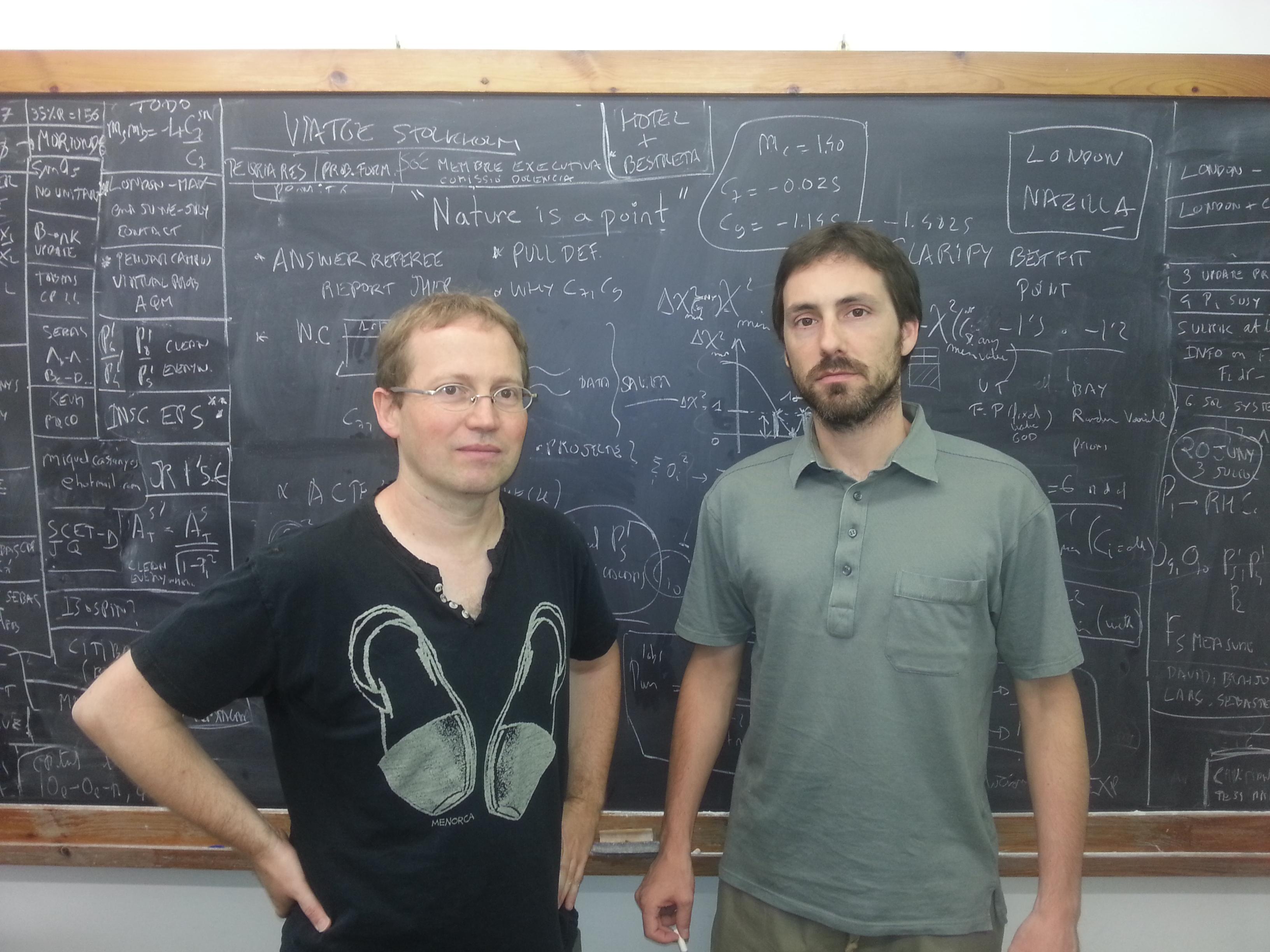 Primeros indicios experimentales de una nueva física más allá del modelo estándar