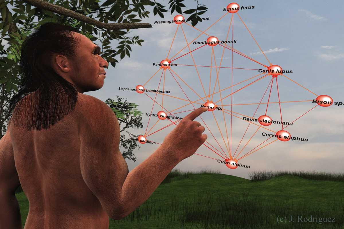 ¿Quién se comía a quién durante el Pleistoceno?