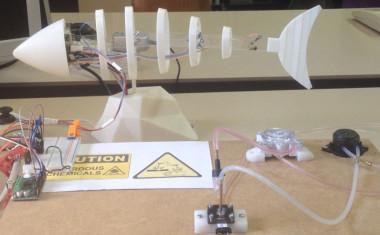 <p>Prototipo de pez robot. / Claudio Rossi. / UPM</p>
