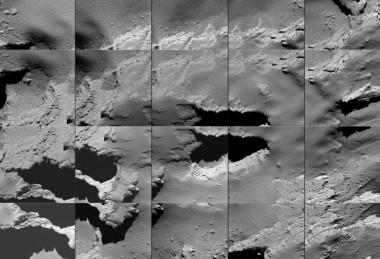 Rosetta cumple su misión tras estrellarse contra el cometa