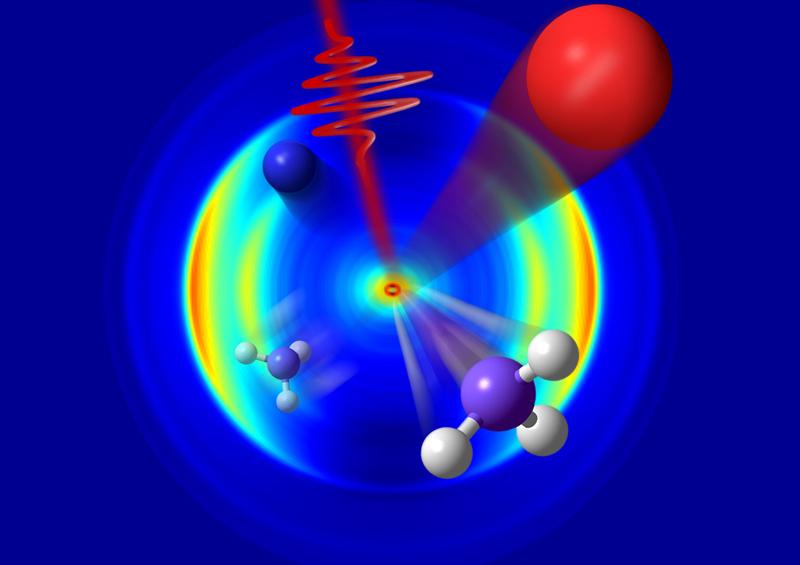 Un bisturí fotónico controla reacciones químicas