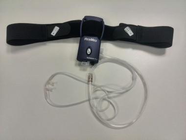 Un dispositivo para el diagnóstico de apneas del sueño, útil en atención primaria
