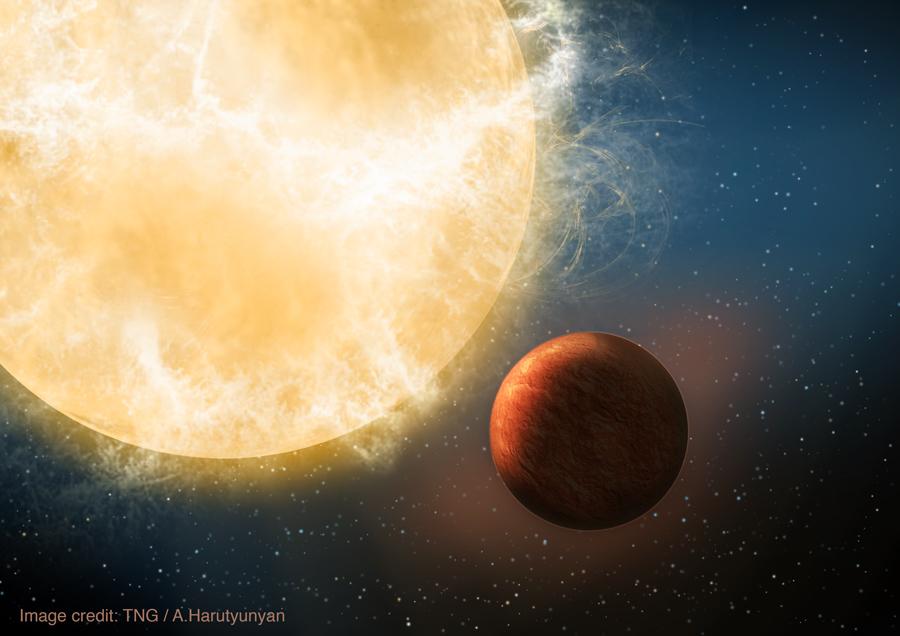 Un exoplaneta presenta el tamaño, la masa y la densidad de la Tierra