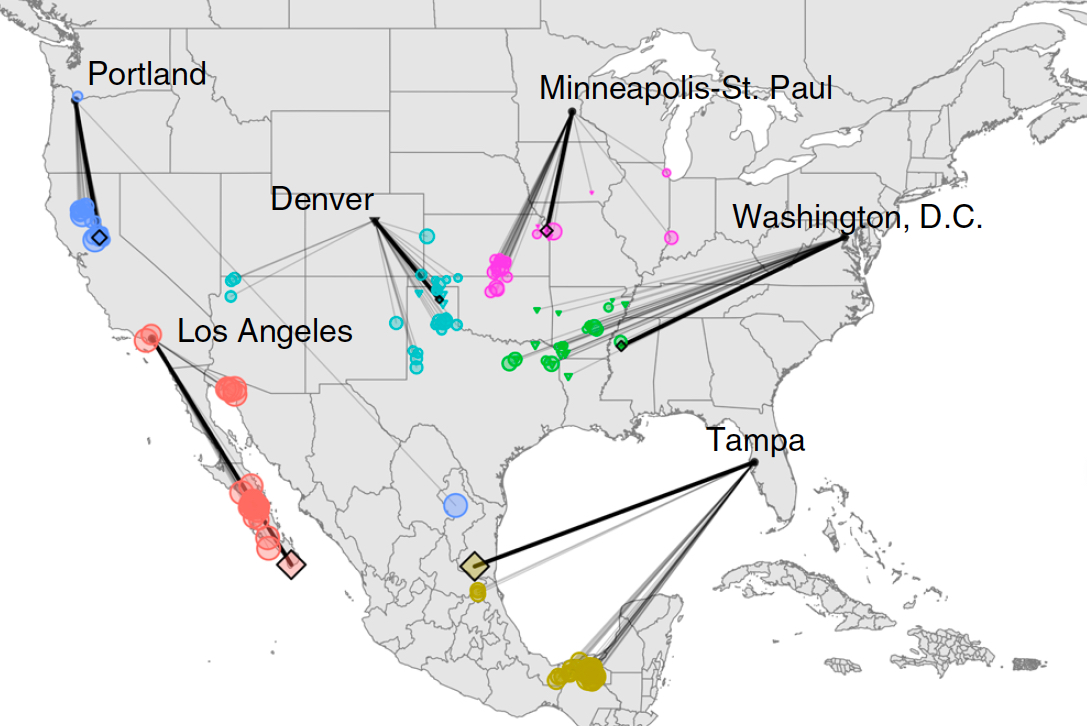 Mapa Interactivo De America Del Norte.Un Mapa Interactivo Muestra Como Sera El Clima En