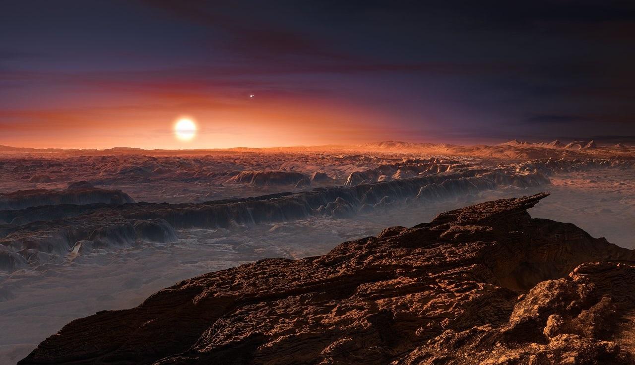Un planeta similar a la Tierra orbita en torno a la estrella más ...