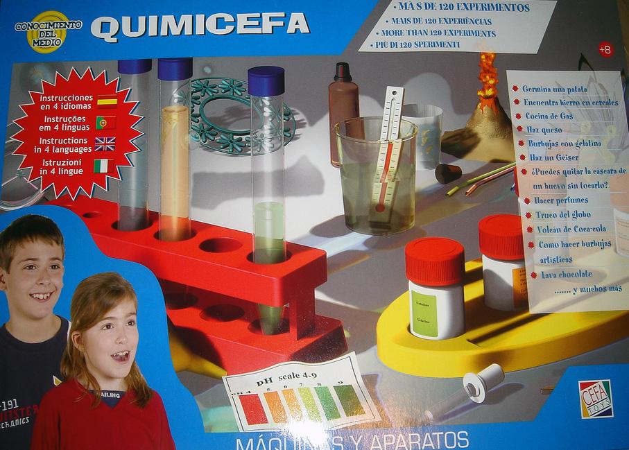 Una historia en tres actos del juguete científico en España