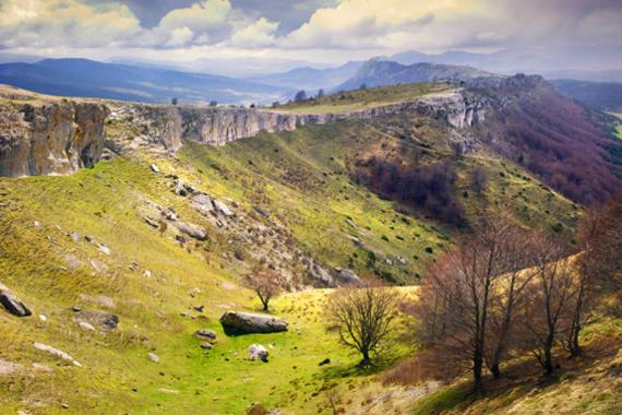 """<p>Hoyo Lerón en el Parque Natural de Valderejo. <a href=""""http://www.plataformasinc.es/index.php/esl/imagenes/inicio/(imagen)/60662"""" target=""""_blank"""">Imagen:</a> SINC.</p>"""